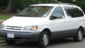 2002 Toyota Sienna Minivan