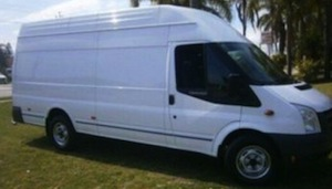 2008 Ford Transit Diesel 2.4Ltr Turbo Van with 155,000km