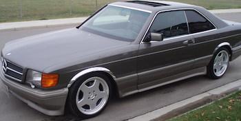 1990 560 SEC Benz