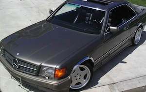 Mercedes Benz '91 560 SEC