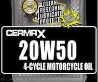 CERMAX 20W50 Motorcycle Oil