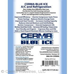 Cerma Blue Ice Label