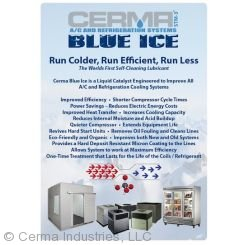 Cerma Blue Ice Qt Label