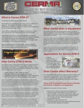 Cerma Half Fold Brochure Page 1